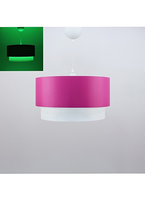 Crea Lighting Fosforix  Sarkıt 40 cm/Scala/Fuşya Fuşya